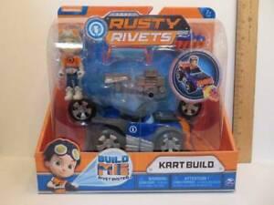 Rusty Rivets Nickelodeon Spin Master Build Me Rivet System Kart Build New