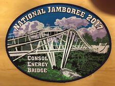 2017 JAMBOREE -LARGE JACKET PATCH - CONSOL ENERGY BRIDGE