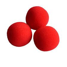 10pcs Close-Up Magic Street Classical Comedy Trick Soft Red Sponge Balls Props R