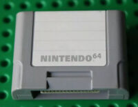 ✅ Nintendo 64 N64 Original Memory Card Controller Pack SAVES Games Official OEM✅
