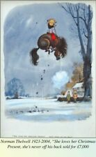 Norman Thelwell Original Watercolour 1965