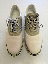 Ashworth two tone gray leather, oxford golf shoes, Men's 10 M (eur 44)