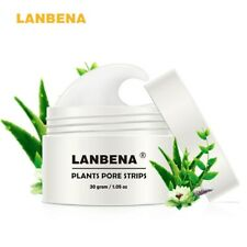 LANBEN Plant Pore Strips Blackhead Remover Nose Acne Cleansing Peel Off Mud Mask
