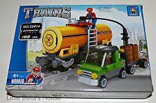 Ausini TRAINS Set#25414 Building Block Toy 199pcs city,tank car (compatible)