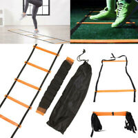 6/7/8/9/12/14 Rung Agility Speed Training Ladder Footwork Football Sport Workout