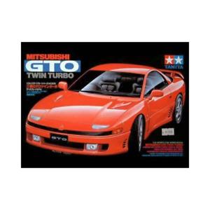 Tamiya 24108 1/24 Mitsubishi GTO Twin Turbo Plastic Model Kit Brand New
