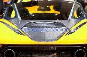 McLaren 720s Carbon Fiber Engine Cover & Rear Deck Lid Cover (2pc kit) BRAND NEW