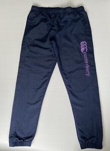 CCC Canterbury Size 12 Women Activewear Track Pants - Side Leg Zippers