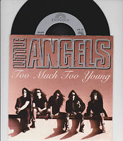 """LITTLE ANGELS ~ Too much too young~ 7""""  1992 EXC"""