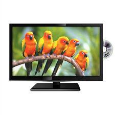 """22"""" Pouces Noir HD Ready DEL TV 12 V télévision pour Caravane Camion poids lourds camion"""