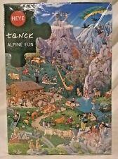 Heye 29680 Alpine Fun 1000 pc jigsaw puzzle, Birgit Tanck, sealed triangle box