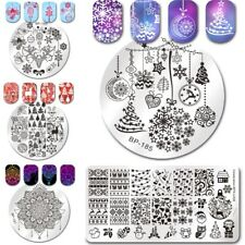 Christmas Tree Dreamcather Nail Art Stamping Plates Image Templates Born Pretty
