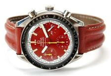 OMEGA SPEEDMASTER MICHAEL SCHUMACHER ROT LIMITED EDITION 1998
