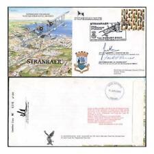 RAF (empaque) 27d Stranraer especial firmado por el vice mariscal de aire y aire Commodore