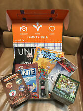 LOOT CRATE May 2015 UNITE Near Complete Marvel Avengers MAD Magazine