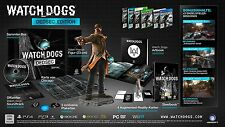 Watch Dogs, Dedsec Edition inkl. Aiden Pearce Figur + Steelbook, PS4, NEU & OVP