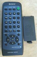 Sony System Audio Remote Control: RM-SR210AV / TV Video Audio Accessories / NR