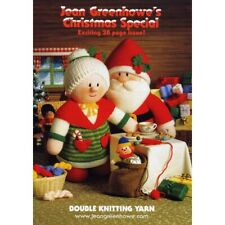 Jean Greenhowe's Christmas Special Double Knitting DK Booklet Yarn Wool Xmas