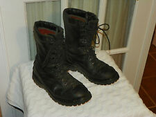 Men's MATTERHORN 1949 GORE-TEX Thinsulate Black Leather Military Boots Sz 6.5 M
