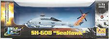 "Easy Model - SH-60B Seahawk Helicopter US Navy HSL 43 ""Battlecats"" 1:72 Neu/OVP"