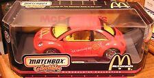Matchbox 1999 Volkswagen McDonald's Beetle 1:18 Die Cast Metal Car