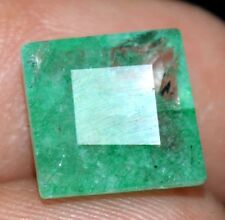 AGSL Certified 4.15 Ct Natural Green Colombian Emerald AAA+ Quality Loose Gem
