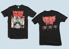 Power Trip T Shirt 2017 Tour Dates Black Slayer Exodus Thrash Metal Size S-2XL