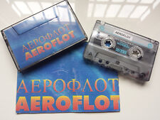 AEROFLOT - RARE PROMOTIONAL DEMO CASSETTE WITH INFO BOOKLET