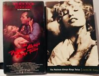 The Postman Always Rings Twice 1981 film (VHS and Movie Tie-In Paperback)