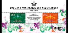 CARIBISCH NED. 2016 Bonaire  200jr koninkrijk der Nederlanden postfris/mnh