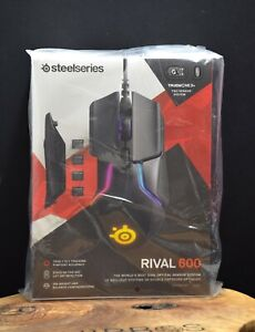 SteelSeries Rival 600 7 Programmable Button Optical USB Wired Gaming Mouse