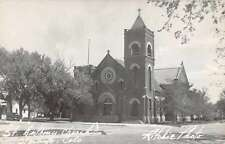 Sterling Colorado St Anthony Church Real Photo Antique Postcard J60377
