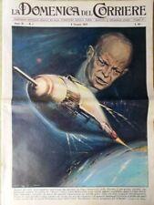 La Domenica del Corriere 4 Gennaio 1959 Score Bergman Lars Schmidt Coppa Rimet