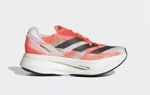 Adidas Adizero Prime X Shoes US Size 9.5 G54976 Cloud White / Carbon / Solar Red
