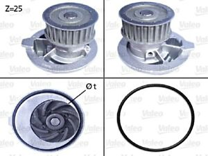 Water Pump VALEO Fits CHEVROLET DAEWOO OPEL Astra F Vectra 1.7-2.2L 1987-