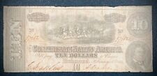 $10 1864 Confederate States of America