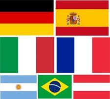 Flaggen Nationalflagge Hissfahne Fahne Ösen 90x150cm EW WM Fussball Flagge VF1#