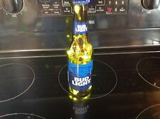 Handmade Bud Light Lighted Beer Bottle, Novelty Lamp, Beer Lamp-Bud Light
