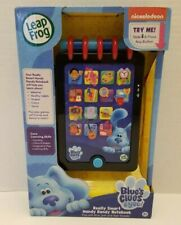 LeapFrog BLUE'S CLUES & YOU! Electronic REALLY SMART HANDY DANDY NOTEBOOK