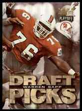 1995 PLAYOFF ABSOLUTE WARREN SAPP RC TAMPA BAY BUCCANEERS #190