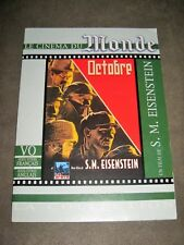 "OCTOBRE - S.M EISENSTEIN - DVD ""LE MONDE"""