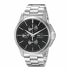 Gucci YA126264 Men's G-Timeless Black Automatic Watch