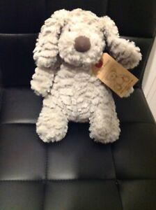 """BNWT Next My Best Friend Puppy Dog Ruffle 10"""" Soft Plush Toy  EXC.MACHINE WASH"""