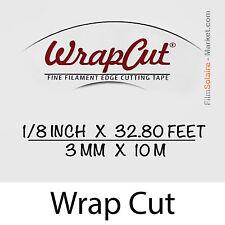 """WrapCut"" 10m,-faden coupe vinylfolie,klebstoff,abdeckung,wrap,Glühfaden Band"