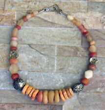 Antique beads African jewelry trade ethnic ancient necklace Venetian rare Africa