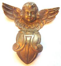 Angelot bronze doré, décoration de lustre ou de pendule: Napoléon III