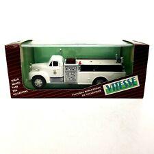 Vitesse #430.3 Mack Fire Pump Houston White 1:43 Scale Diecast Model Truck