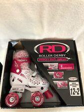 NEW RD Roller Derby Roller Skates Girls Adjustable Size Model 1971 Size US 12-2