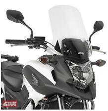 GIVI Lunotto D1111ST chiaro per Honda NC 700 X 12-13 Parabrezza 16,5 cm rialzo