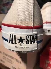 1980 Vintage Antique Old Basketball Shoes Converse Mens Oxford 13.5 USA NIB box